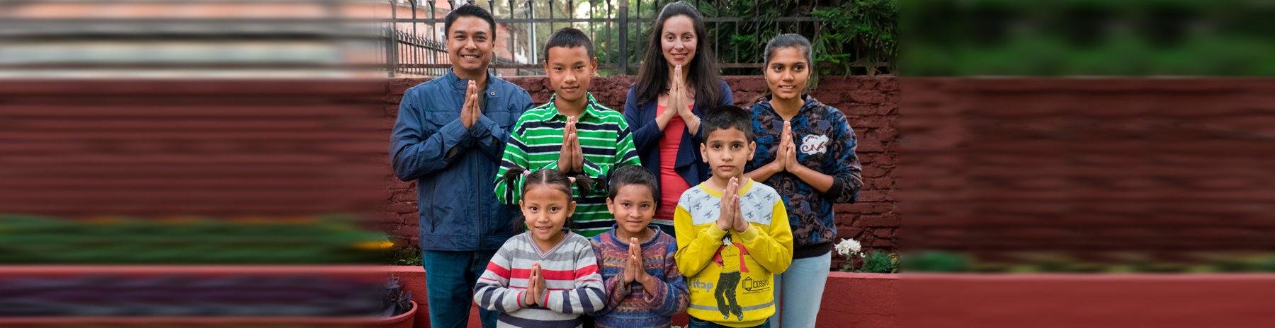 Namaste from Prabina